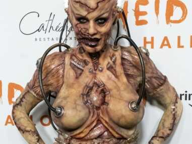 PHOTOS - L'incroyable costume d'Halloween d'Heidi Klum