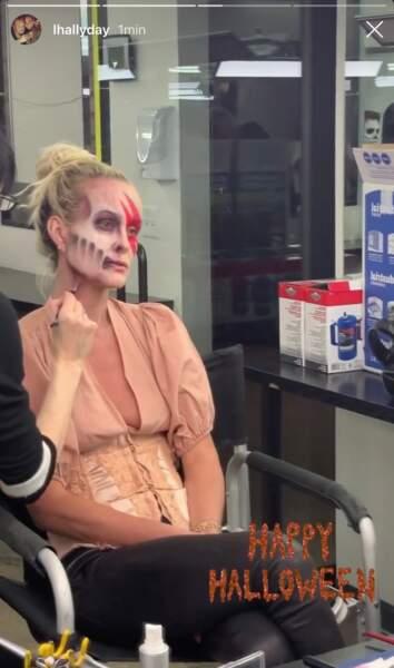 Laeticia Hallyday : son incroyable  transformation pour Halloween