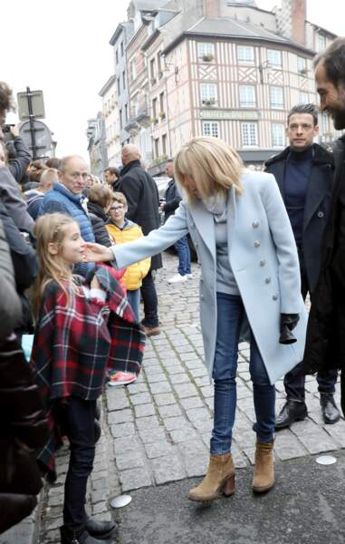Pour Halloween, Brigitte Macron a rencontré des enfants