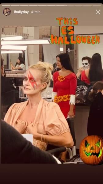 Laeticia Hallyday : son déguisement très original pour Halloween !