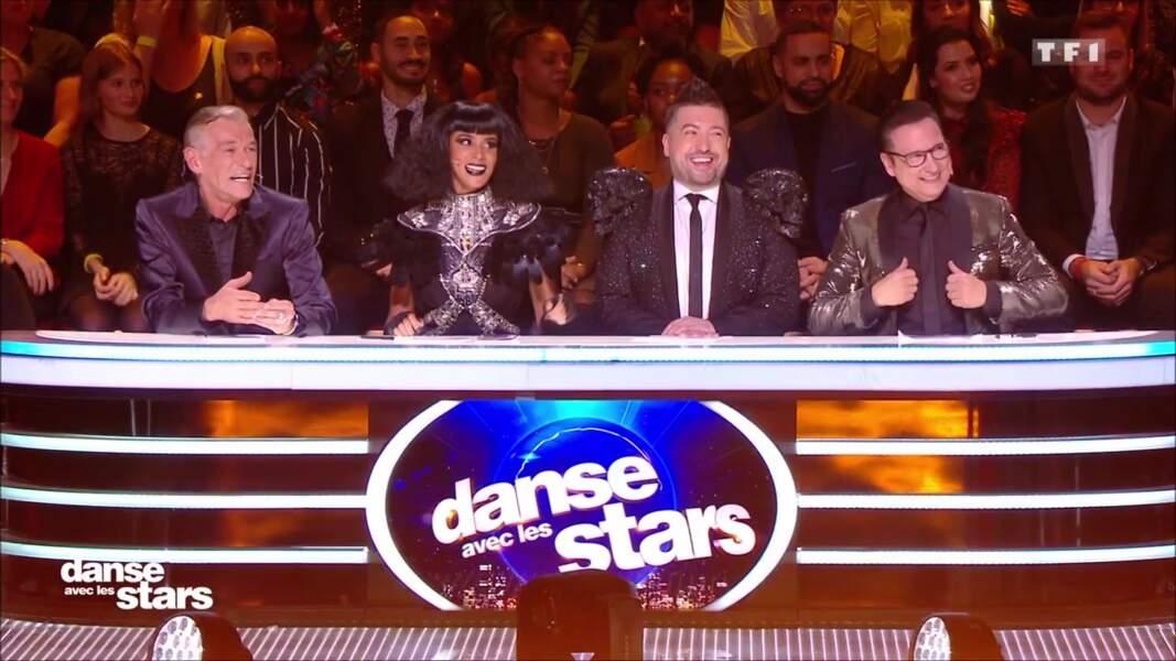Sh'ym et les juges de Danse avec les stars pour Halloween