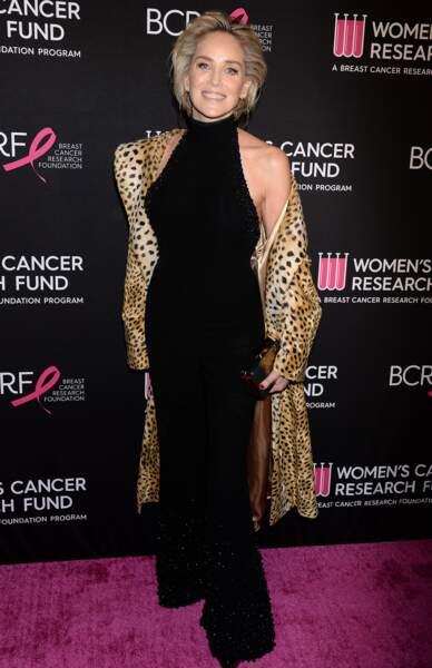 Le faux court tonique de Sharon Stone