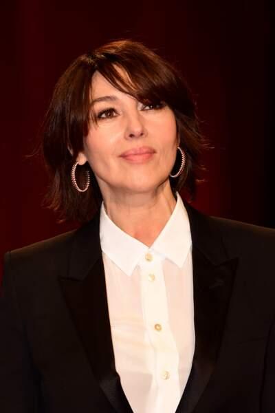Monica Bellucci, la coupe courte la plus surprenante et réussie de la rentrée