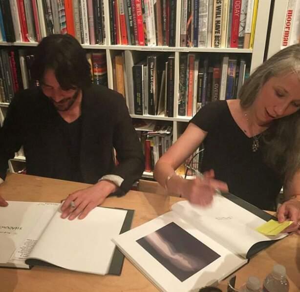 Peintre et sculptrice, Alexandra Grant est une amie de longue date de l'acteur de 55 ans