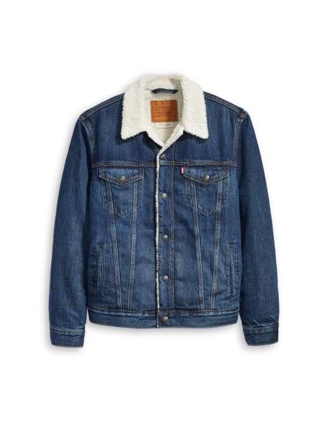 Veste en jean doublée, 139 €, Levi's.