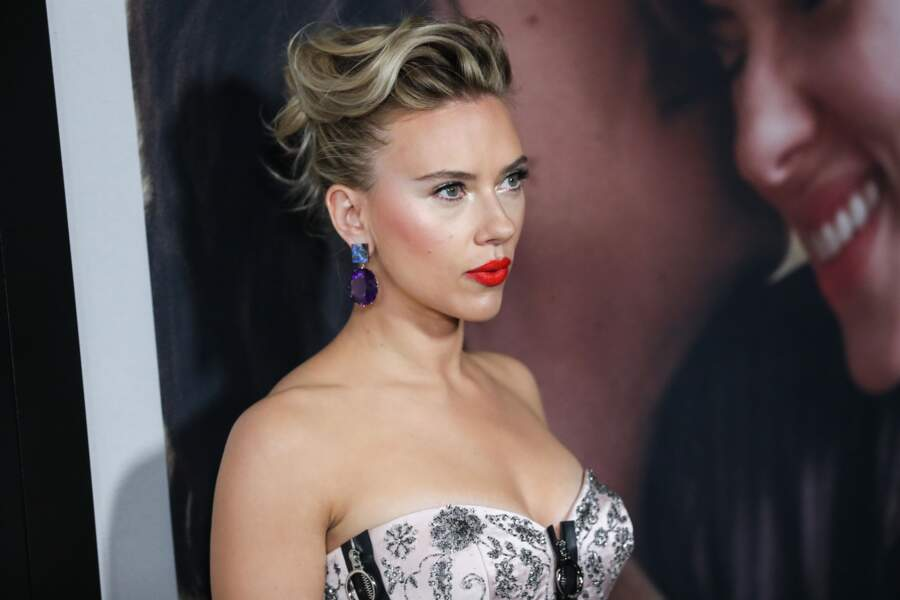 Scarlett Johansson  à l'avant-première de Marriage Story à Los Angeles le 5 novembre