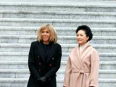 PHOTOS - Toutes les tenues de Brigitte Macron en Chine en novembre 2019
