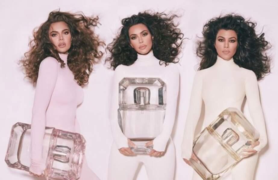 Diamonds, la nouvelle marque parfum de Kim, Kourtney et Khloe Kardashian