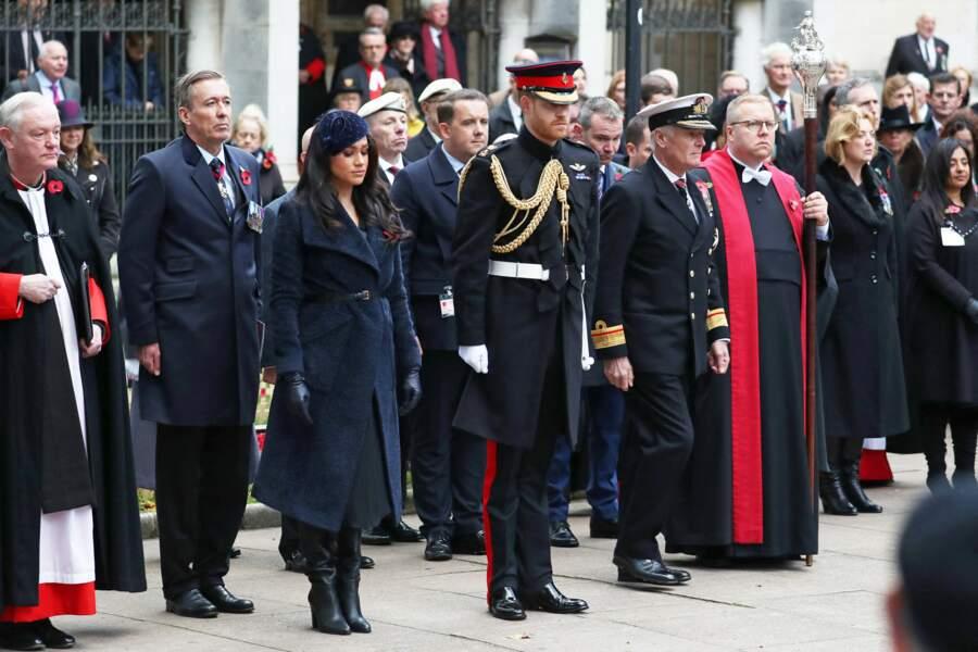 Le prince Harry était vêtu de son uniforme de capitaine des Blues and Royals du Household Cavalry