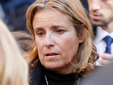 PHOTOS - Liza Azuelos, bouleversée aux obsèques de sa mère, Marie Laforêt