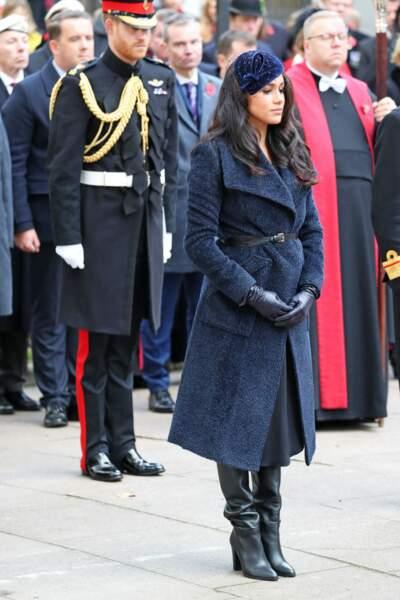 Meghan Markle et le prince Harry ont assisté au 91e Field of Remembrance à l'abbaye de Westminster ce jeudi 7 novembre