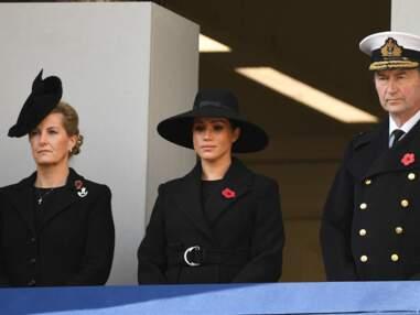 PHOTOS - Pour le Jour du souvenir, Meghan Markle bien loin de Kate Middleton