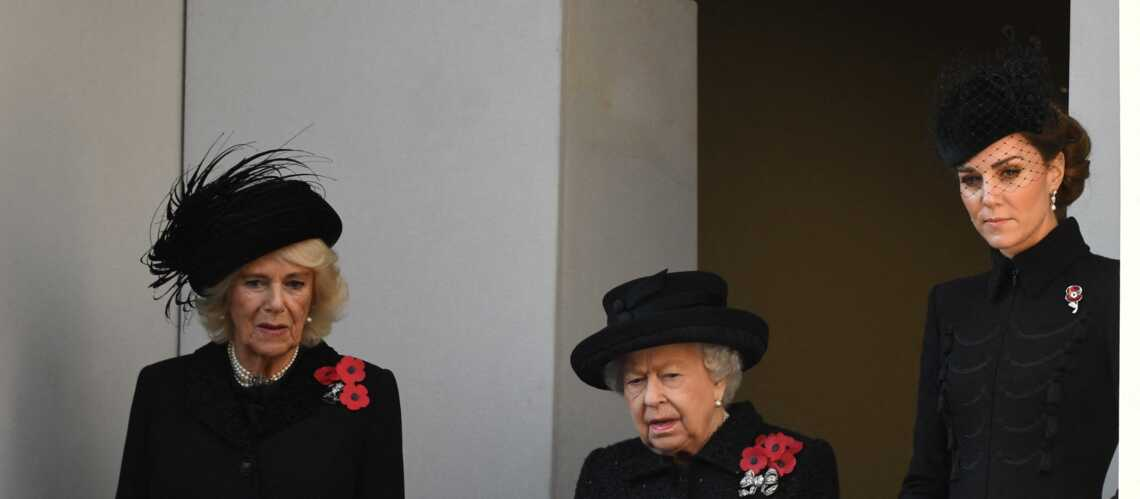 PHOTOS – Kate Middleton ou Meghan Markle : leur duel à distance sur deux balcons pour le Jour du souvenir