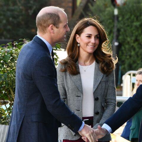 PHOTOS – Kate Middleton reçycle sa veste de blazer à carreaux si tendance cet hiver 2020