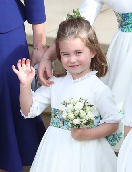 La princesse Charlotte ne ressemble pas à sa maman Kate Middleton mais plutôt à Kitty Spencer, la cousine de son père le prince William.