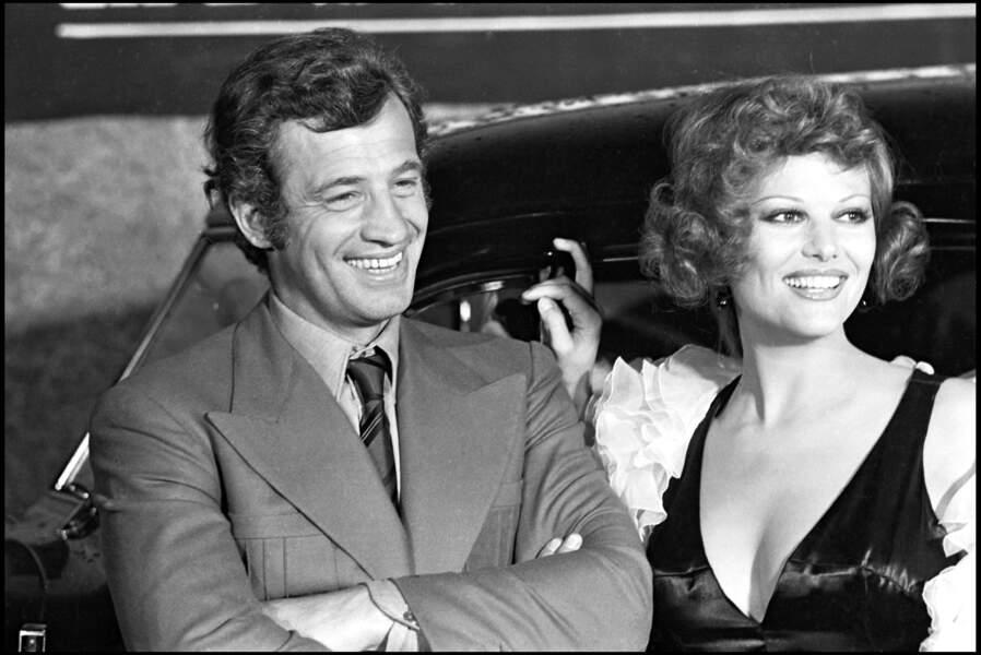 Jean-paul Belmondo en 1972 à Cannes. Il a transmis son visage et son sourire charismatique à  son petit fils.