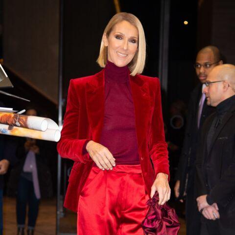 PHOTOS – Céline Dion surprend avec ses looks monochromes très colorés