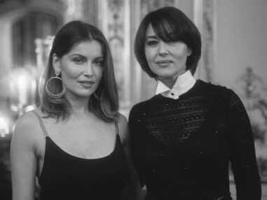 PHOTOS - Monica Bellucci, Isabelle Adjani et Laetitia Casta réunies à Paris