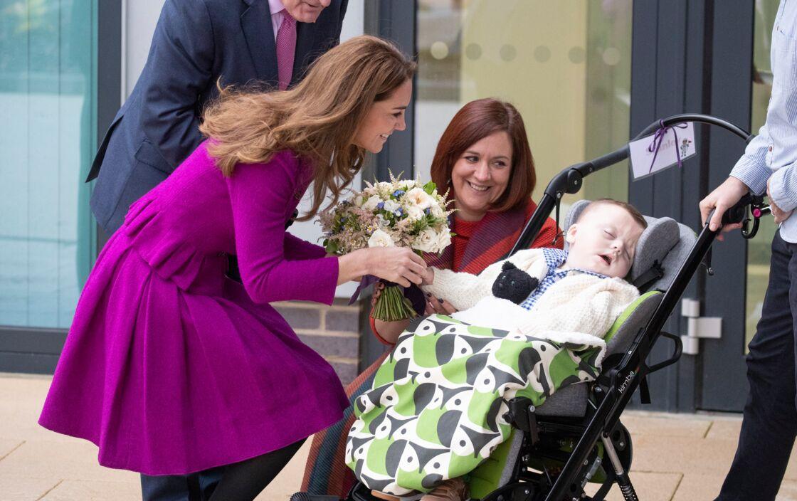 Kate Middleton, lors de l'inauguration du centre The Nook, le vendredi 15 novembre 2019.