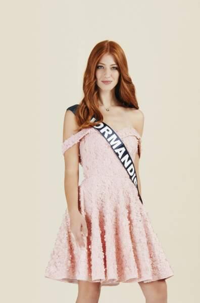 Miss Normandie 2019 : Marine Clautour