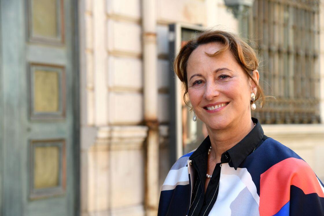 Ségolène Royal lors de la 24ème journée du Festival du livre de Nice, le 1er juin 2019