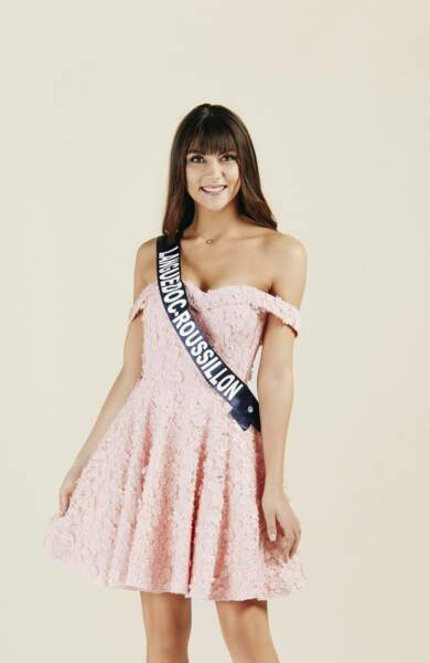 Miss Languedoc-Roussillon 2019 : Lucie Caussanel