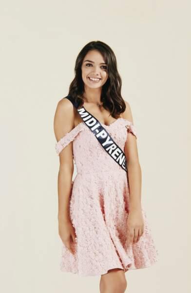 Miss Midi-Pyrénées 2019 : Andréa Magalhaes