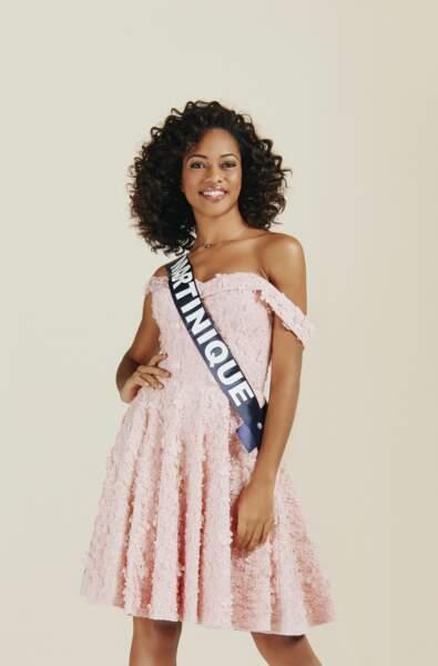 Miss Martinique 2019 : Ambre Bozza