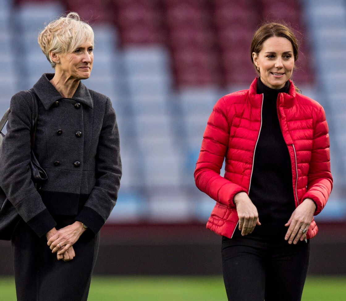 Kate Middleton et Catherine Quinn en visite à