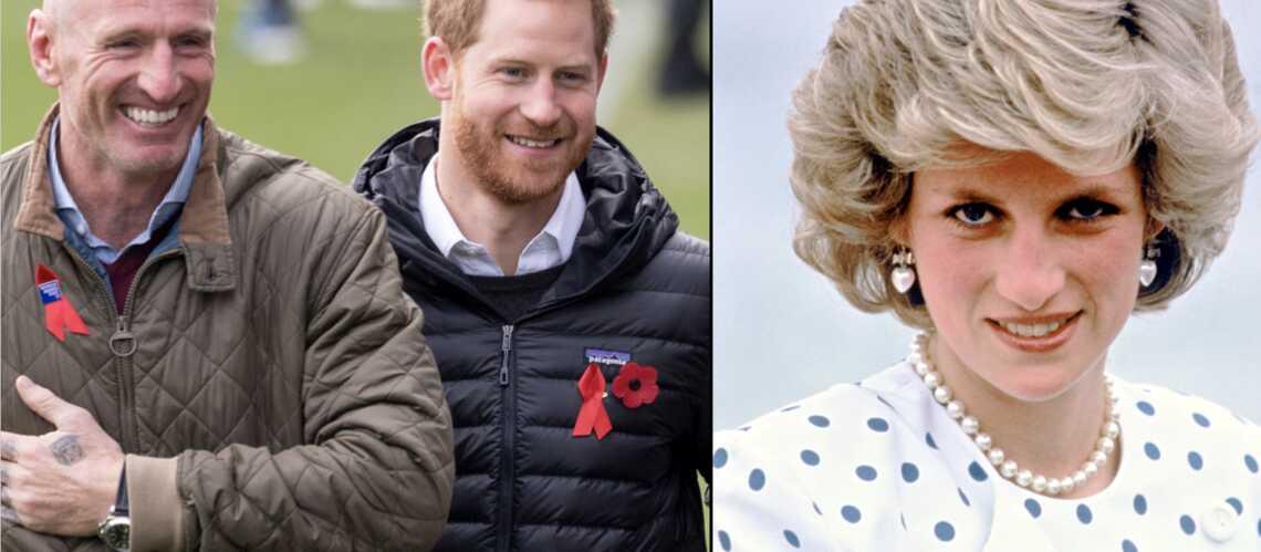 Le prince Harry, Gareth Thomas et Lady Diana, même combat!