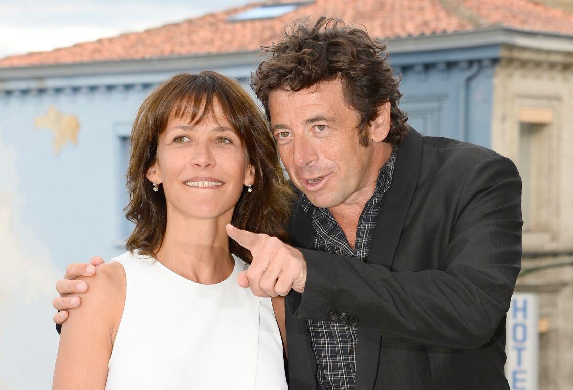 Sophie Marceau et Patrick Bruel - Photocall du film