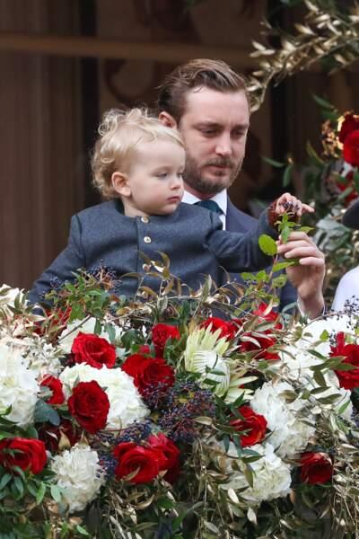 Joli instant père-fils entre Pierre Casiraghi et son petit dernier, Francesco