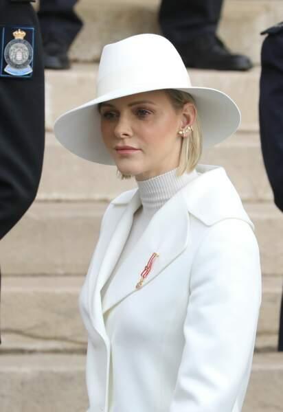 Charlene de Monaco radieuse lors de la Fête nationale