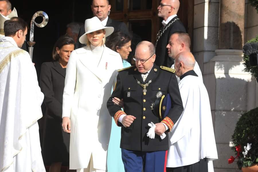 Charlene et Albert de Monaco ravissants en ce 19 novembre 2019