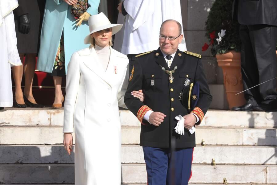 Charlene et Albert II de Monaco aux anges ce 19 novembre lors de la Fête nationale