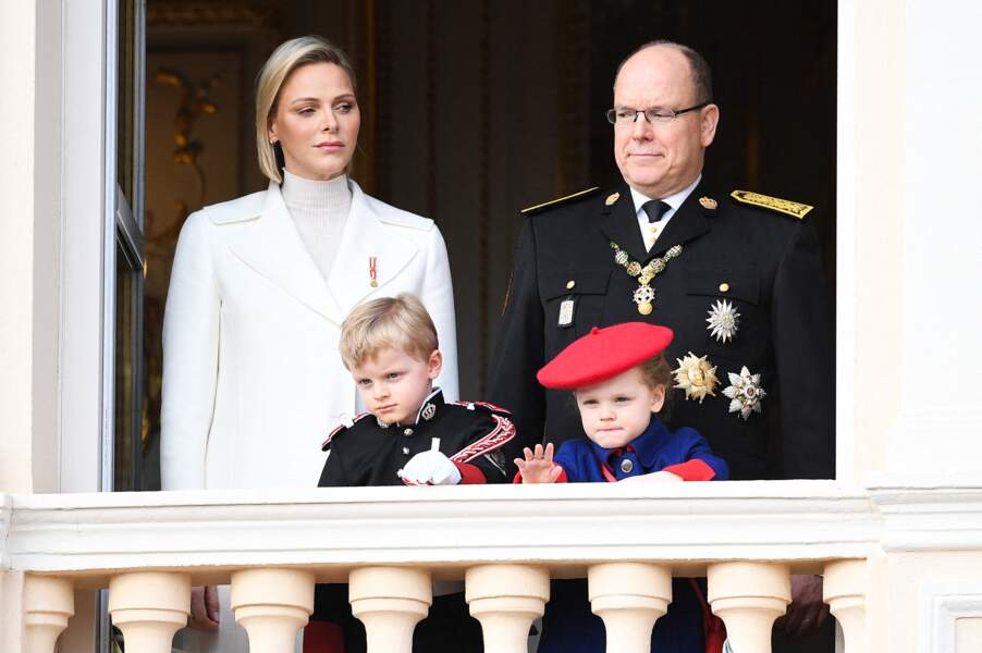 Jacques, le fils de Charlene et Albert de Monaco trop mignon dans ses habits d'appart