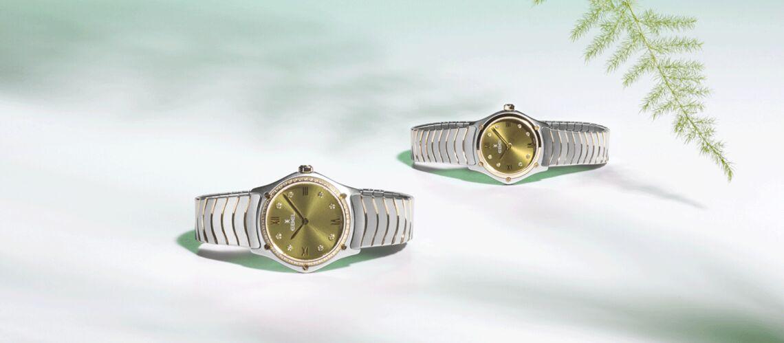Une montre classique dans l'air du temps
