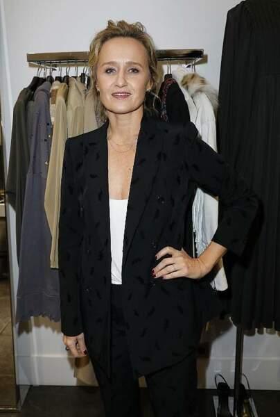 Caroline Roux a profité de la soirée Disco PAROSH au Montaigne Market.