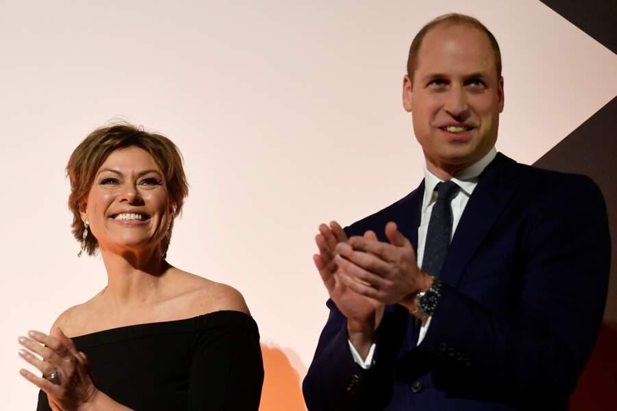 Le prince William est monté sur scène ce jeudi 21 novembre pour remettre des prix aux conservateurs africains
