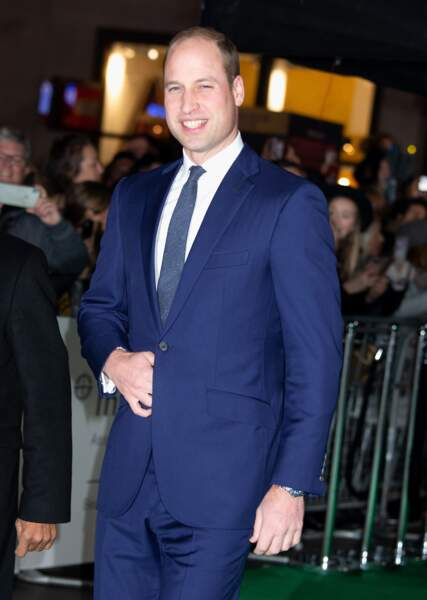 Le prince William arrive à l'Empire Cinema de Londres, pour les Tusk Conservation Awards ce jeudi 21 novembre 2019