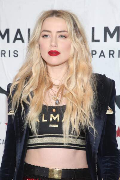 Le blond blanc comme Amber Heard