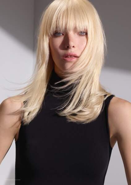 Le blond scandinave signé Dessange