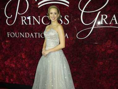 Jazmin Grace Grimaldi sublime lors d'une soirée hommage à Grace Kelly