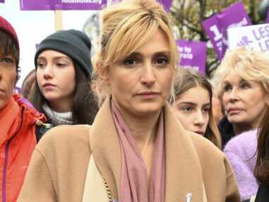Julie Gayet, femme engagée, donne de sa personne pour dénoncer les violences faites aux femmes
