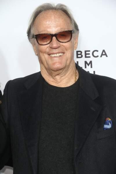"""Peter Fonda, rendu célèbre pour son rôle de motard dans le film """"Easy Rider"""" est mort le 16 août."""