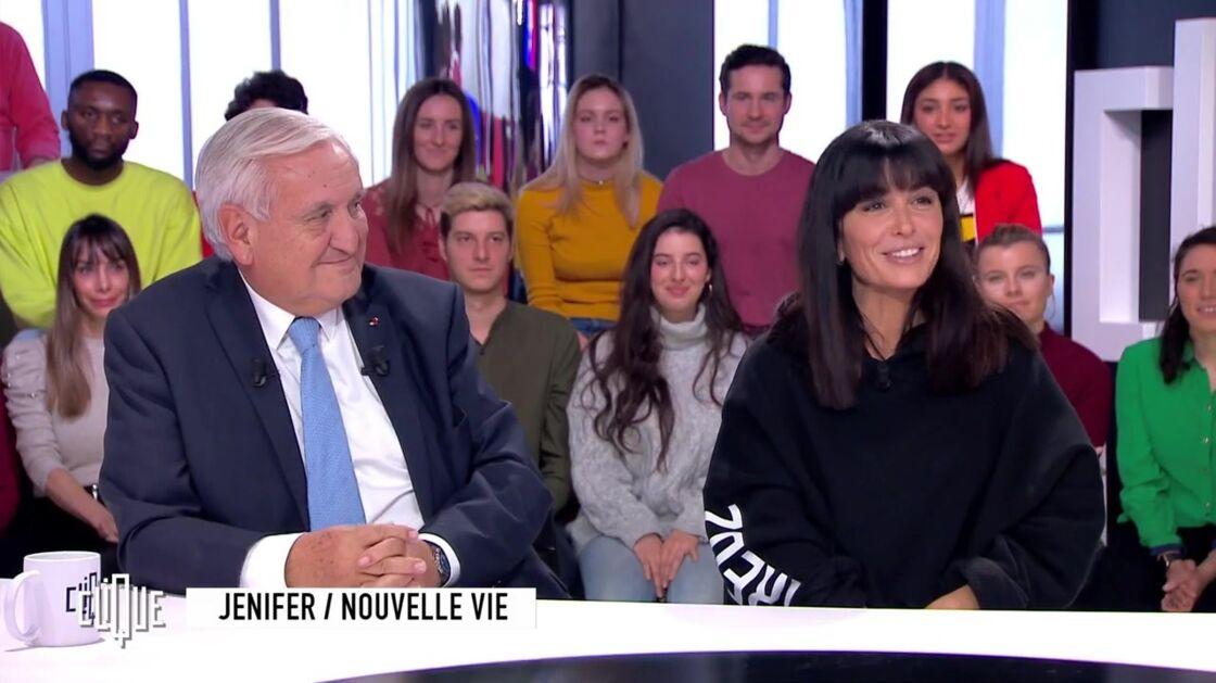 Jean-Pierre Raffarin et Jenifer dans Clique, le 27 novembre 2019