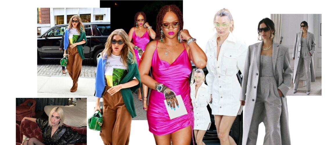 PHOTOS – Dua Lipa, Bella Hadid, Bruna Marquezine.., elles sont toutes fans de Fenty, la marque de Rihanna