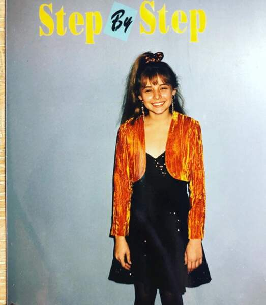 En 1990, Christine Lakin est déjà connue pour son rôle dans la série Notre belle famille.