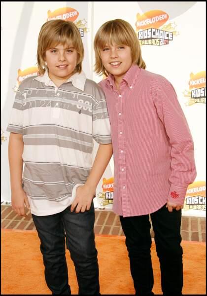 Les jumeaux Sprouse en 2006 étaient déjà bien connus du petit écran grâce à leur passage dans de nombreuses séries de Disney Channel.