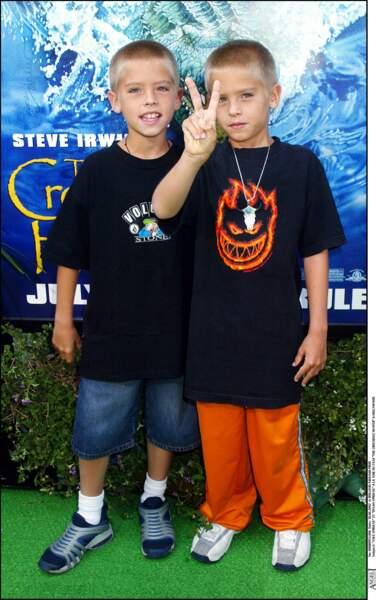 Cole et Dylan Sprouse se font fait connaître dès leur plus jeune âge. Ils ont décrochés un rôle a 1 an seulement dans Une maman formidable.